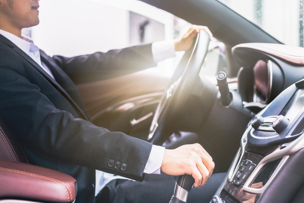 Chauffeur VTC en formation à Paris